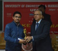 Managing Director getting Best Teacher Inspiring award at IIT Delhi by Gov. of West Bengal