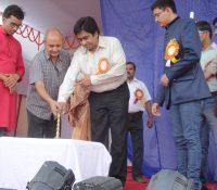 Hon'ble DDC, Madhepura & Hon'ble President, IMA inaugurating Decade Celebration of KPS